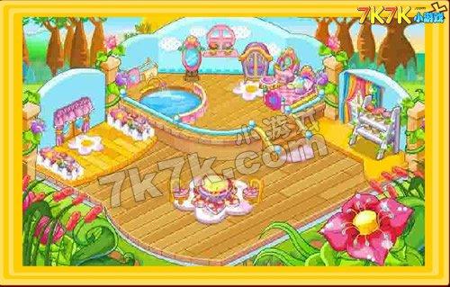 奥比岛装饰热带度假屋2
