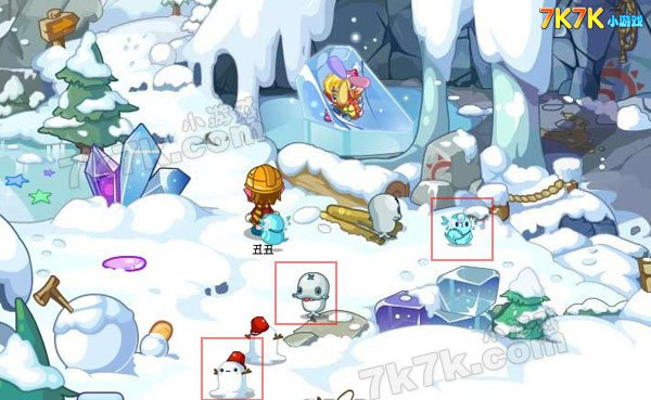 洛克王国冰系宠物分布地图