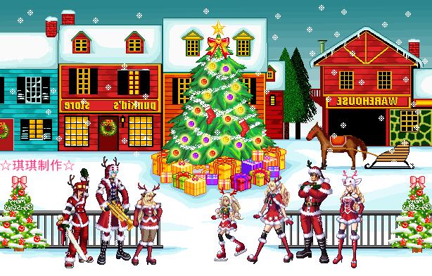 日服圣诞节活动 海量内容大更新